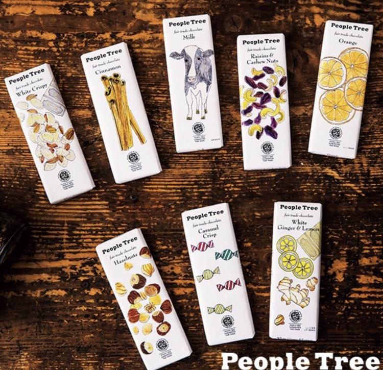 【食レポ】People Treeのチョコレートで幸せタイム