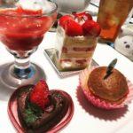 【食れぽ】いちごブッフェ@ホテル日航大阪